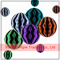 8inch Vintage Halloween Party Decor Tissue Paper Honeycomb Ball