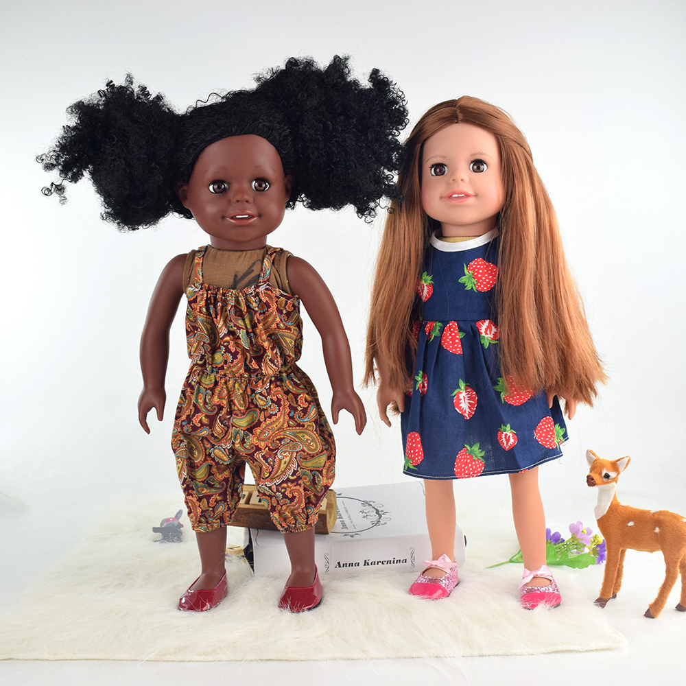 China wholesale custom vinyl african american silicone dolls