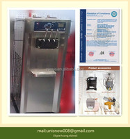 Used commercial ice cream machine for sale with CE/table top