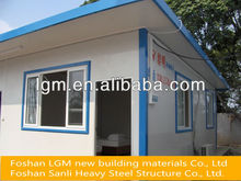 competitive good quality modular steel frame prefabricated house