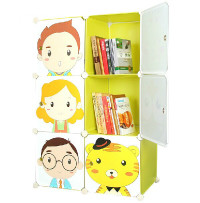 New Natural Clothes/Toys /books Any Purpose Bedroom Storage Kids Cabinet