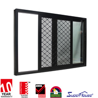 2016 new window grill design india aluminium security home window grill