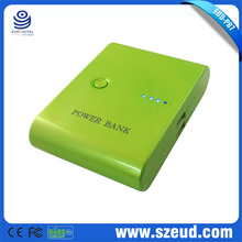 5600Mah 5v 1a lithium universal portable power bank case for ipad mini for samsung iphone HTC Nokia