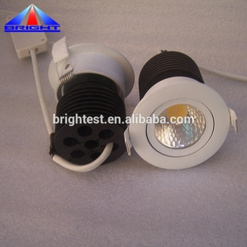 recessed downlight aluminium 10w led cob Factory price