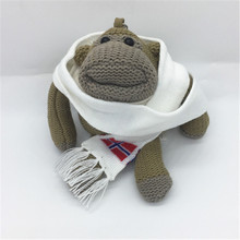 Knitted Pattern Scarf For Doll&Plush Toy Knitted Accessories