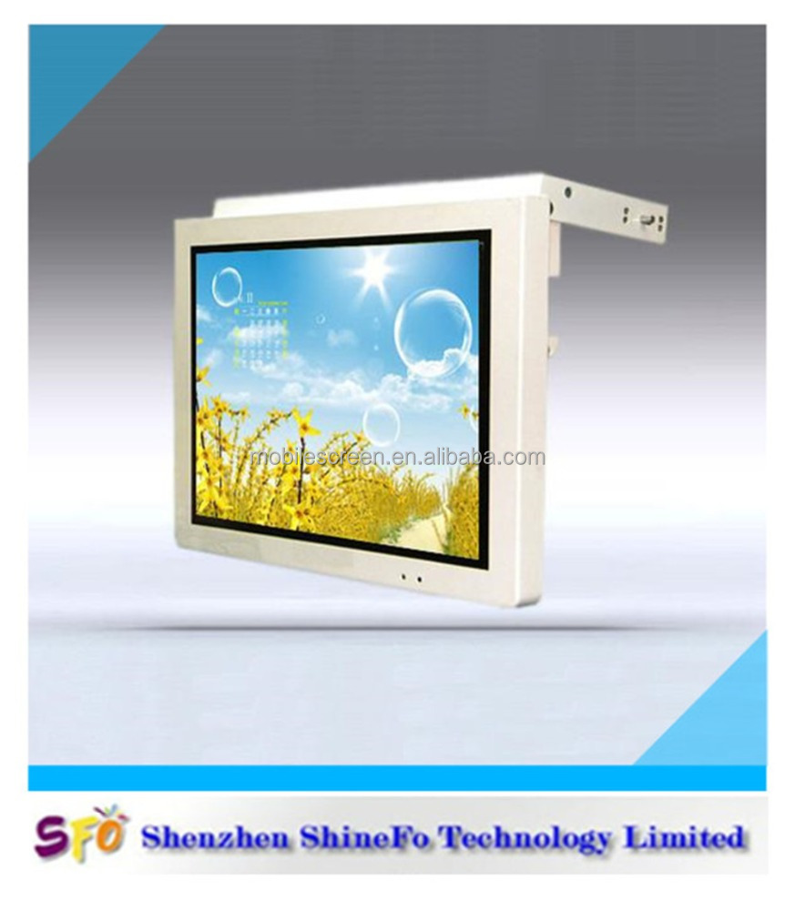 19 inch bus vehicle lcd advertise player