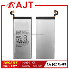 Original Battery Standard Battery Type and Mobile Phone Use For Samsung S6 S6 EDGE