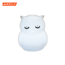 Animal Vibration sensor sleeping led for kids coloful light colorful night owl pat light