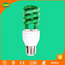 Green best quality colorful energy saving bulb 13w saver lamp bulb