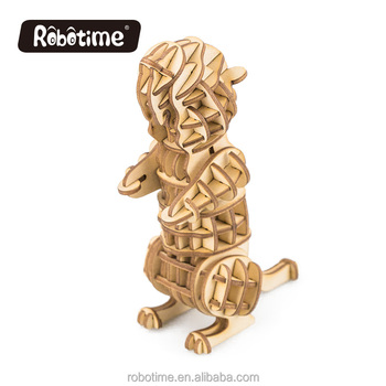 Robotime kid puzzle as popular product on factory sale