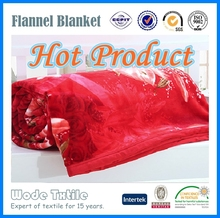 Luxury Adult/Children/Baby Super Soft Polyester Flannel Blanket With SGS Certificate
