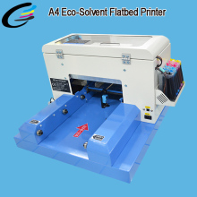 Plastic PVC ID Card Making Machines Eco Solvent Printing Machine A4 Size
