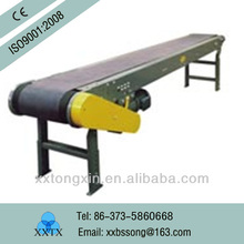 covered with manufacture guarantee endless flat belt types of conveyor systems