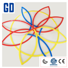2017 hot sale-6pcs 52cm soft logic ring/measure equipment/Math learning for kids