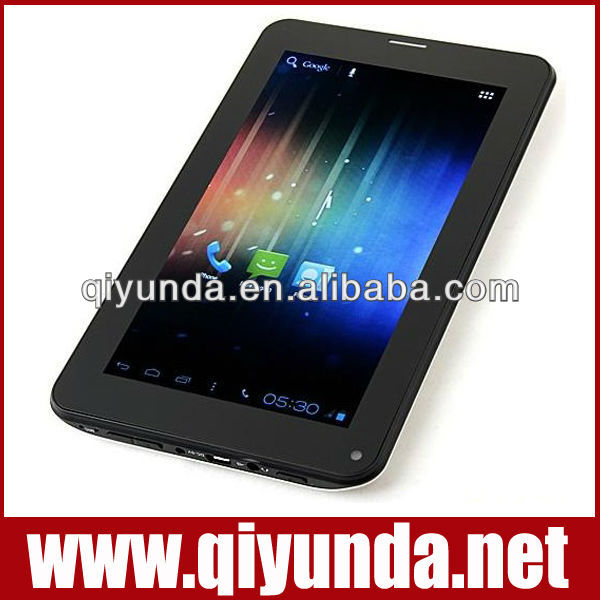 China high quality tab 7 allwinner a13 1.5ghz tablets andriod 4.0 86V mold Manufacturers, Suppliers and Exporters