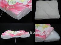 Eco-friendly Hot Air Through Cotton padding quilting fabric