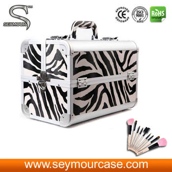 Aluminum Brush Holder Make up Case