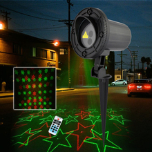 New Arrival Snowflake Star Christmas Outdoor Laser Light Projector