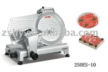 Frozen meat slicing machine with S/S blade