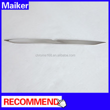 Rear trunk trim for BMW X1 E84 car plastic silver trim chrome accessories from Maiker Auto