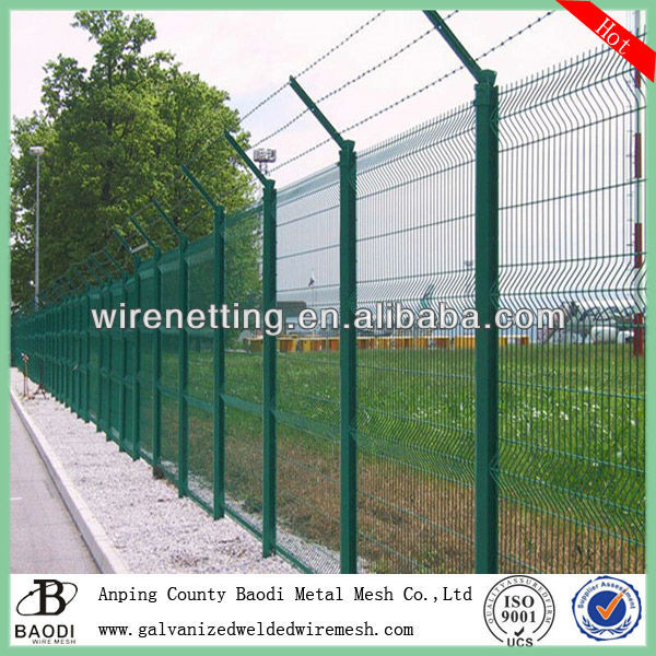 Vinyl Clad Wire Fencing Security Mesh