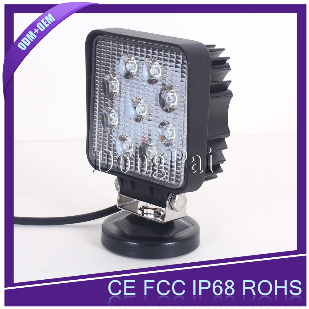27W LED Work Light <strong>12V</strong> LED Work Light vehicle <strong>motor</strong>