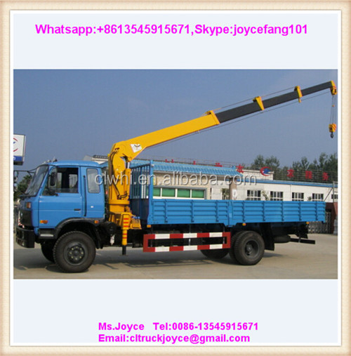 Mobile Crane Engine : Engine crane ton t truck mounted hydraulic mobile