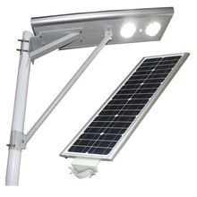 Wireless control outdoor road garden lamp all in one 30w led solar road lighting