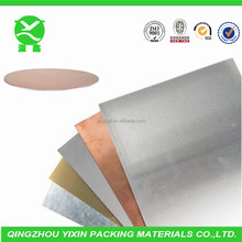 Roll packed metalized paper aluminized paper