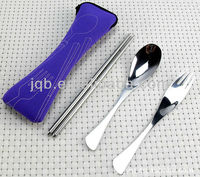 Portable Stainless steel cutlery travel set