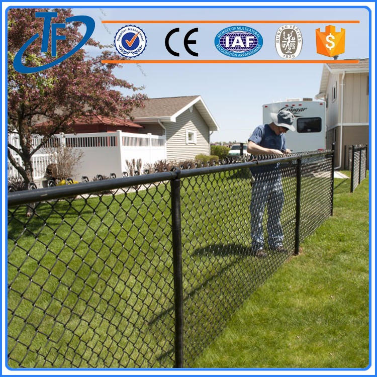Galvanized cheap sheet metal fence panels , vinyl coated chain link fence