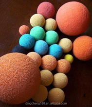 factory price and excellent grade rubber bouncy/bouncing ball for cleaning