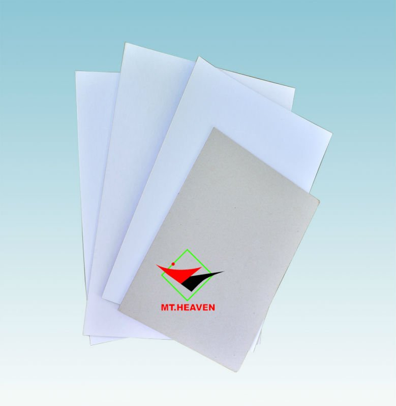 250gsm white cardboard paper for making ring binder