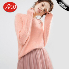 Hot selling comfortable soft women heavy winter sweaters for sale
