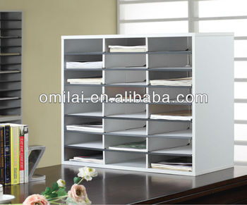Office desk top file organizer