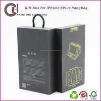 Phone case with hang hole , mobile phone packaging box supplier
