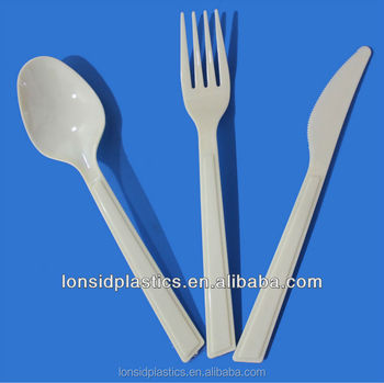 CE SGS FDA Certification Classic Western Style New Heavy Weight Plastic Cutlery