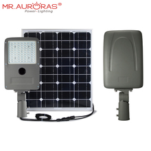 15w solar led street parking lot light with motion sensor mppt solar charge controller