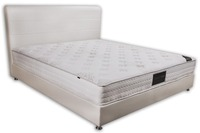Tight top pocket spring memory foam mattress king size round mattress