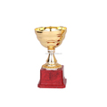 NEW style plastic trophies and metal trophy cup/trophy award for sports souvenirs