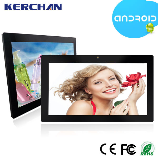 15.6 inch android 4.4 super smart tablet pc , indoor led large screen display video