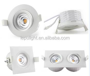 Fireproof led downlight ip44 Cutout 83mm CE Rohs NEMKO certificate 5years warranty