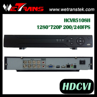 Good sale Surveillance 8CH DVR HCVR5108H 1280*720P H.264 Full Real Time streaming video mobile dvr