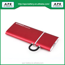 2012 newest ultra slim popular colorful power bank 1900mAh