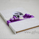 Romantic wedding guest books with photo frame