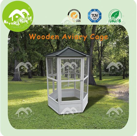 wholesale wooden large bird cage