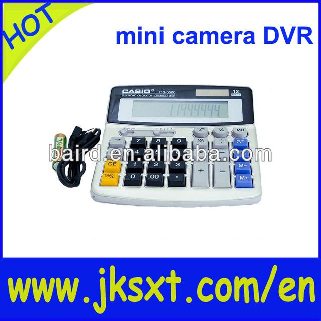 super mini recordable hidden camera & calculator dvr recorder