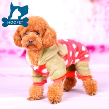 Fit Warm Knitted Thermal Dog Winter Clothes for Dog Pajamas PJS Coat Jumpsuit