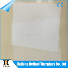 compatible with unsaturated polyester e glass fiber tissue mat