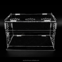 Wholesale acrylic plexiglass pet cages carriers,snake reptile case display lizard cage